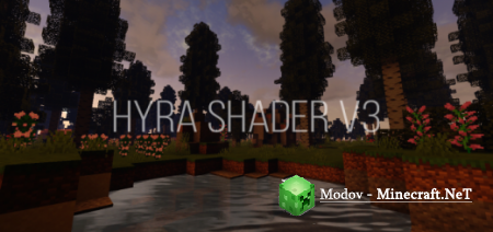 Hyra Shaders PE – Шейдеры PE 1.16, 1.15, 1.14