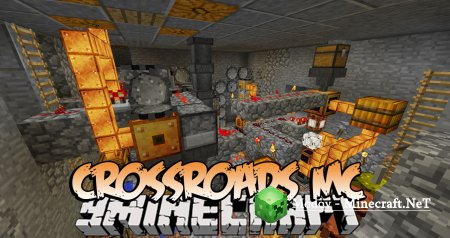 Crossroads MC Мод 1.16.3, 1.15.2, 1.14.4, 1.12.2, 1.11.2, 1.10.2