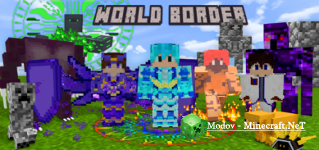 World Border: The New Dimension Аддон/Мод PE 1.16