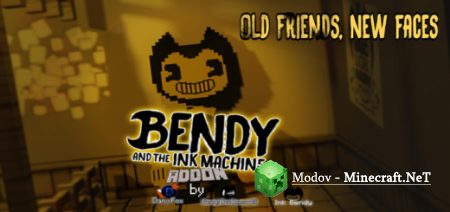 Bendy and the Ink Machine v3.1 - Аддон/Мод PE