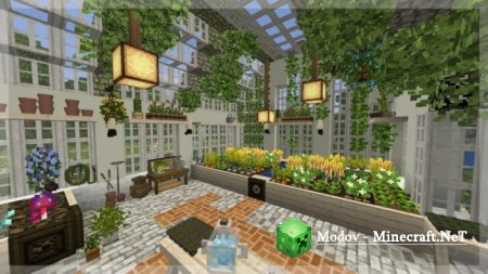 Ghoulcraft BE ~ Garden Pack Мод PE