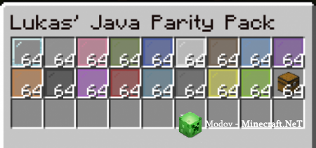 Lukas' Java Parity Pack - Текстура PE