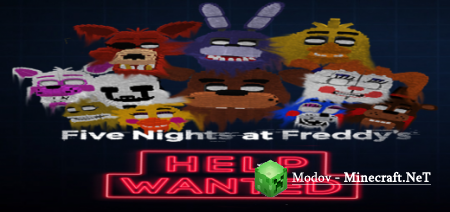 Five Nights At Freddy's Help Wanted Аддон PE